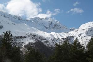 Состояние снега на Чегете